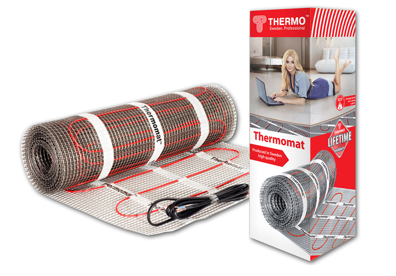 Thermo Thermomat TVK-180 5 кв.м. 900 Вт (под плитку)